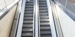 Groza w Nowym Sączu. Niemowlę spadło z ruchomych schodów