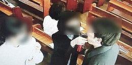 Chcieli uchronić parafian od koronawirusa słoną wodą. Dziesiątki zachorowało
