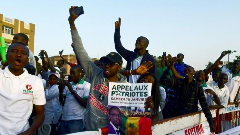 Emotions are running high in Senegal in the runup to elections on February 24