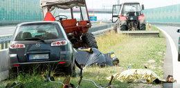 Wypadek na A1. Kierowca zasłabł! Nowe fakty