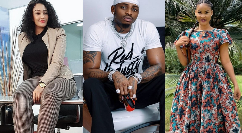 Tanasha snubs Diamond, as Zari and Hamisa shower him with praises on father's day