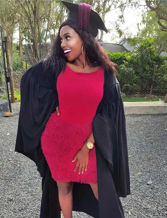 Miss Cashy graduates (Instagram)