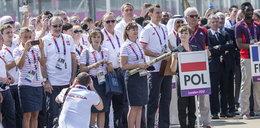 Polska flaga nad Londynem