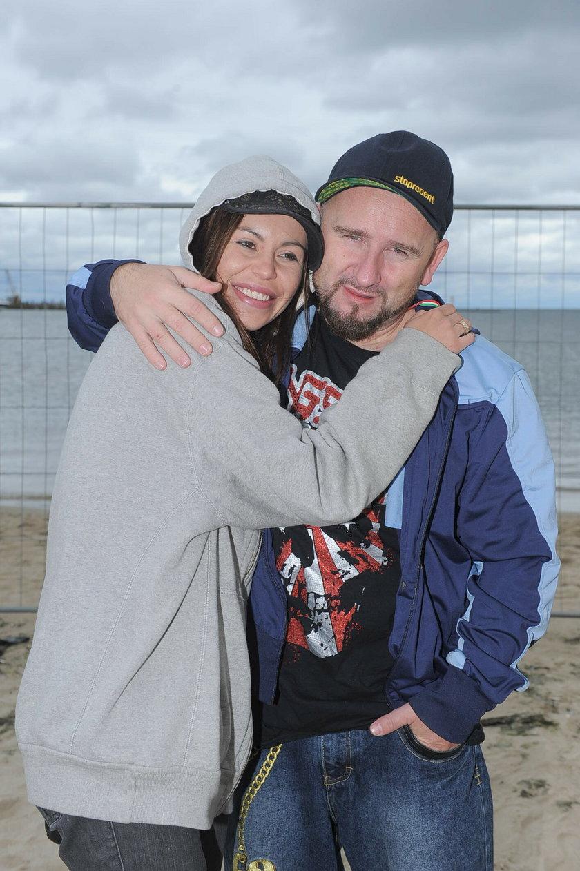 Liroy z żoną
