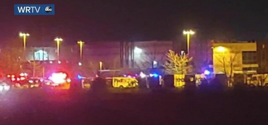 Strzelanina w oddziale FedEx. 8 osób nie żyje