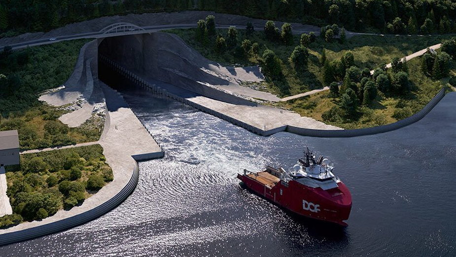 W Norwegii powstanie pierwszy na świecie tunel dla statków