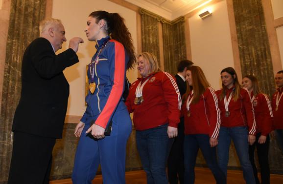 Božidar Maljković je pozdravio naše šampione