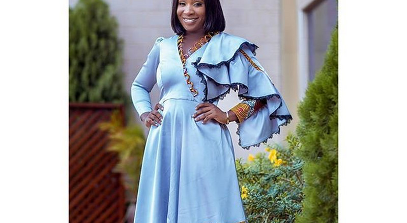 5 times Ghanaian designer, Pistis styled Naa Ashorkor in gorgeous dresses