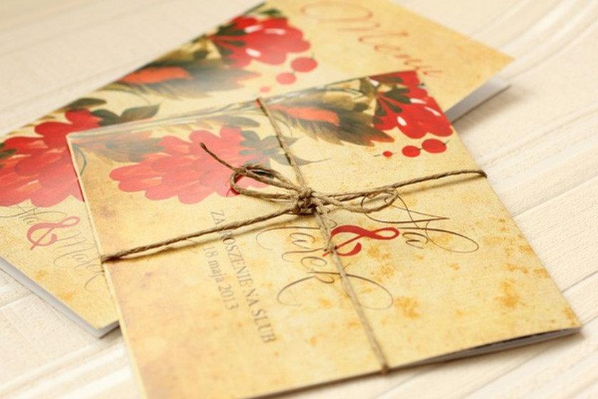 Zaproszenie ślubne, Amelia Wedding