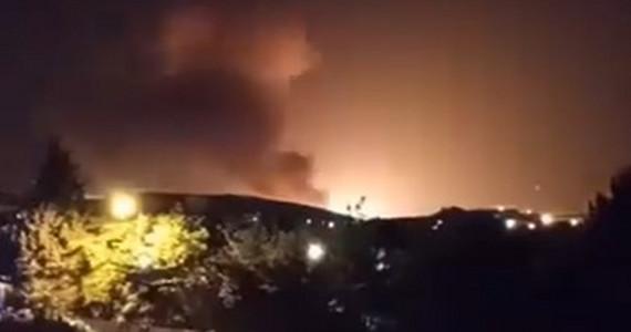 Iran: wielki wybuch w pobliżu wojskowej bazy pod Teheranem