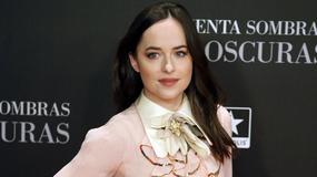 """Piękna Dakota Johnson na premierze """"Ciemniejszej strony Greya"""" w Madrycie"""