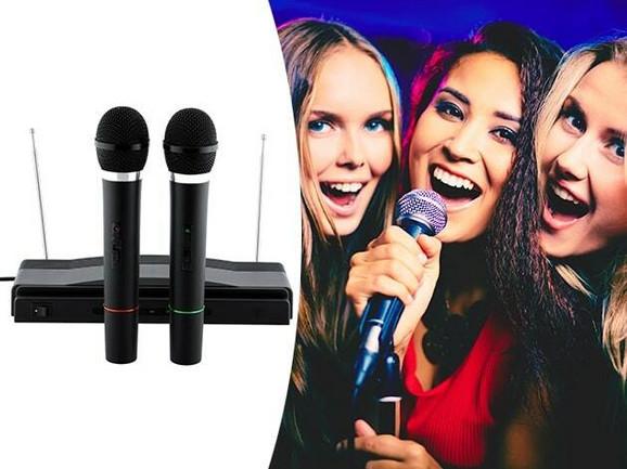 Bežični karaoke set