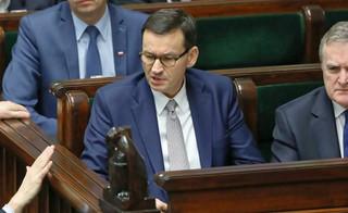 Premier o Banasiu: Rozważamy rozwiązania natury prawnej, które pozwoliłyby zakończyć tę sytuację