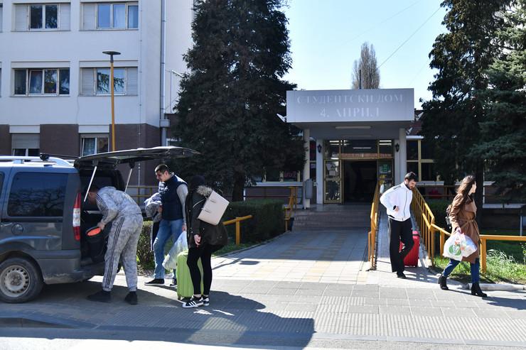 Studenti napuštaju studentske domove