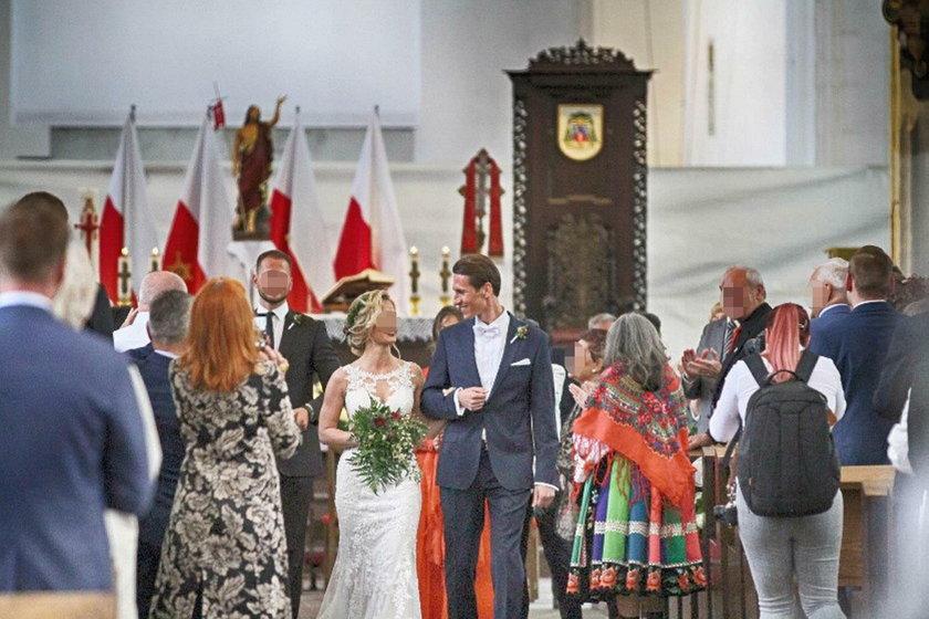 Ślub kandydata na prezydenta Gdańska. Piękna wybranka!