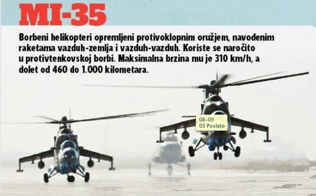 Helikopteri Mi-35 imaju veliki domet