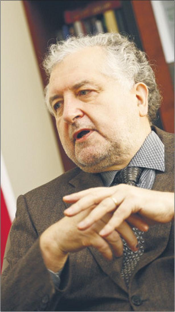 Prof. Andrzej Rzepliński, prezes Trybunału Konstytucyjnego Fot. Wojciech Górski