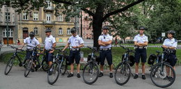 Policjanci dostali prezent od miasta. Na rowerach będą ścigać chuliganów