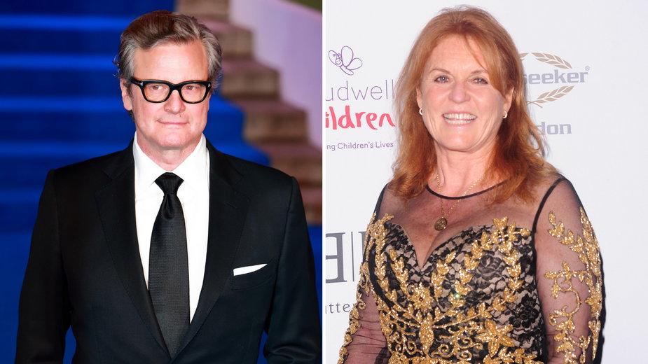 Colin Firth i Sarah Ferguson