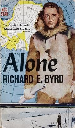 "Okładka ""Alone"", autobiografia Richarda Byrda"