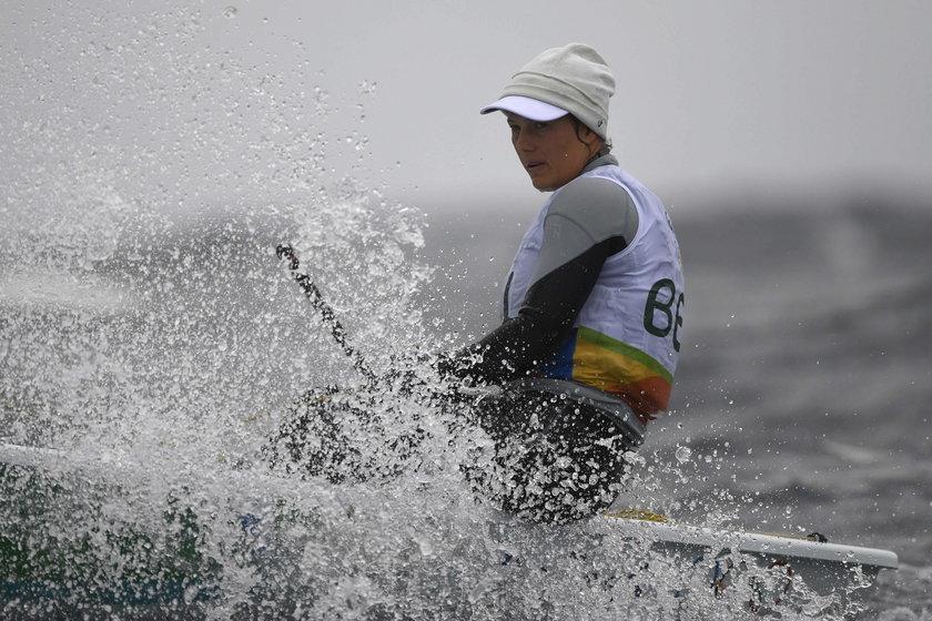 Belgijska żeglarka zaraziła się zanieczyszczoną wodą u wybrzeży Rio