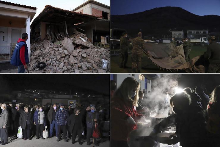 Kombo zemljotres Grčka