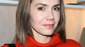Olga Bołądź w nowej fryzurze przygotowuje się do roli