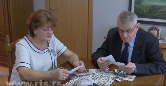 Zlatna svadba, Zora i Dušan Lešnjak, Leskovac