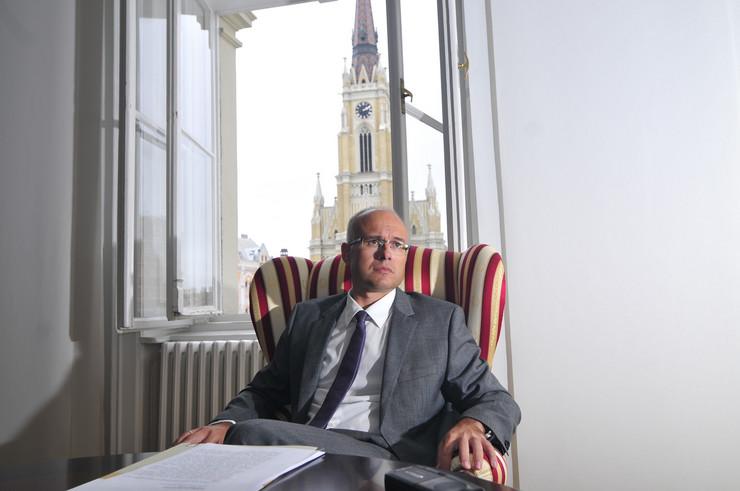 Novi Sad 14 Milos Vucevic gradonacelnik novog sada intervju foto Robert Getel