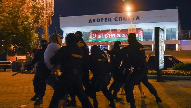 Białoruska milicja