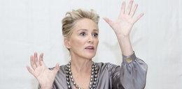 Dramat Sharon Stone. Trafił ją piorun przy prasowaniu