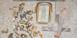 Hieny wpadły na cmentarzu w Pabianicach