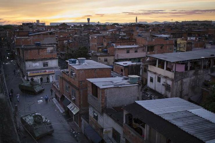 Na periferiji Rio de Žaneira:Favela Mare