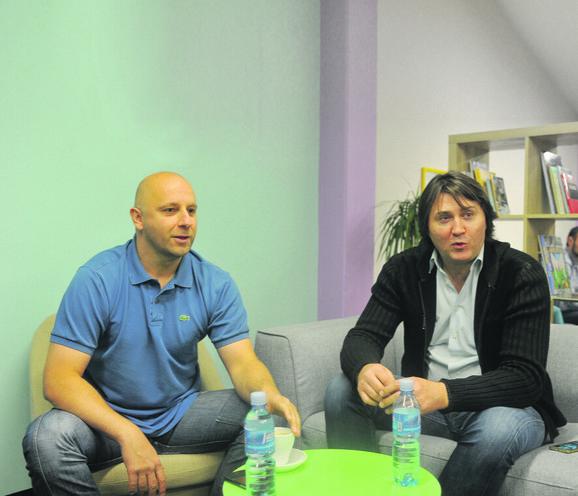 Butulija i Jovanović u redakciji