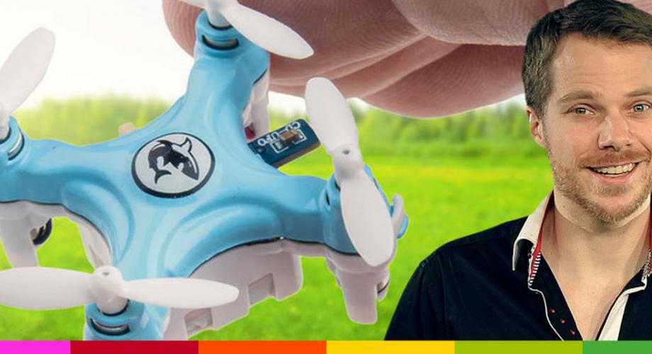 Gadget der Woche 42: Mini-Copter Color Quad XS