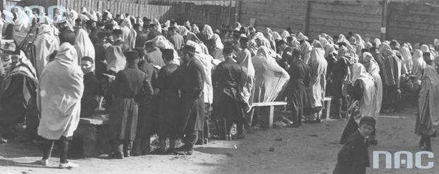 Obchody święta Jom Kipur w Górze Kalwarii, paź. 1930