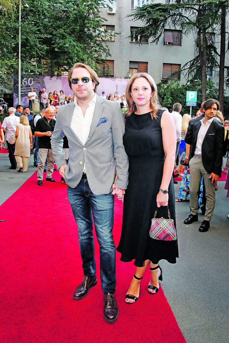 Gordan Kičić sa ženom