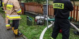 Złodzieje chcieli ukraść sprzęt strażakom walczącym z powodzią
