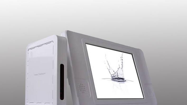 Dzięki LCD SoakTv możesz oglądać telewizję w pod wodą