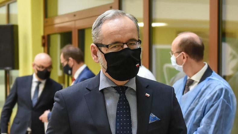 Minister zdrowia Adam Niedzielski PAP/Wojtek Jargiło