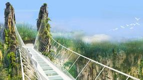Ukończono budowę najdłuższego mostu ze szkła na świecie