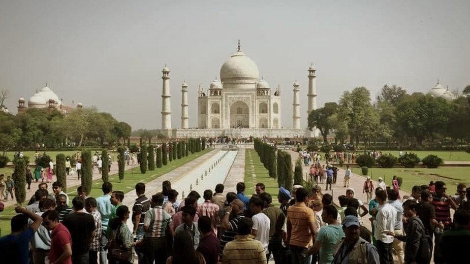 Siódmy cud świata Tadż Mahal. To świątynia wzniesiona dla jednej z żon