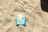 Pelene na plaži