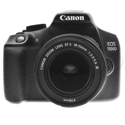 Canon EOS 1300D z obiektywem 18-55 IS II