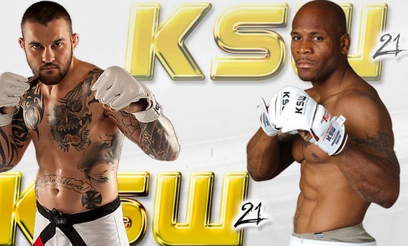 KSW 21 fightcard