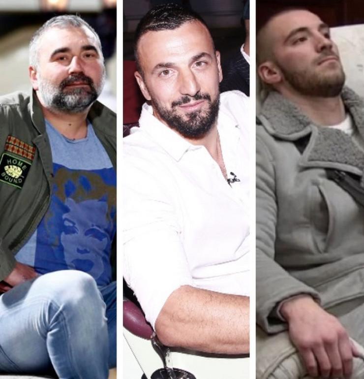 Miki Đuričić, Vladimir Tomović, Mensur Ajdarpašić