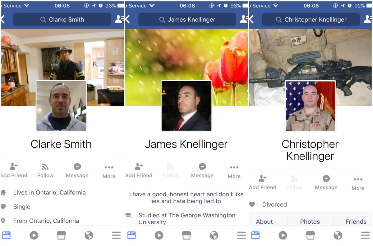 ROMANTIČNI PREVARANTI Upozorenje: Lažni američki vojnici