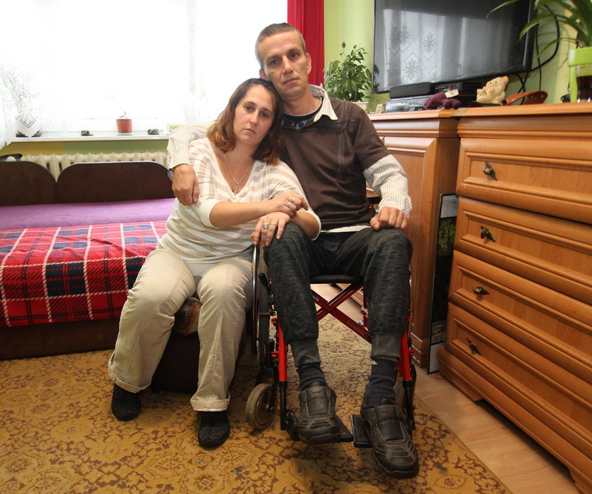Dali inwalidzie mieszkanie na 2 piętrze