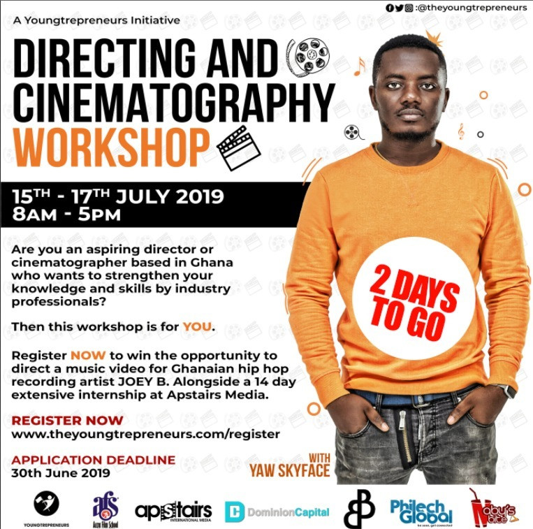 Scilla Owusu set to launch Directing and Cinematography workshop on Monday