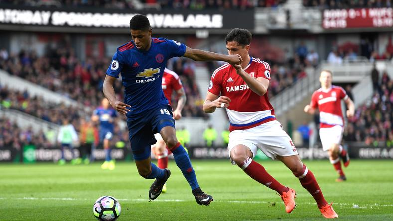FC Middlesbrough - Manchester United